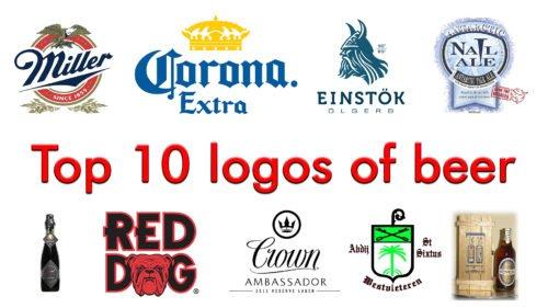 Top 10 logos of beer