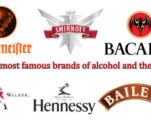 🍷 Top 10 most famous brands of alcohol and their logos