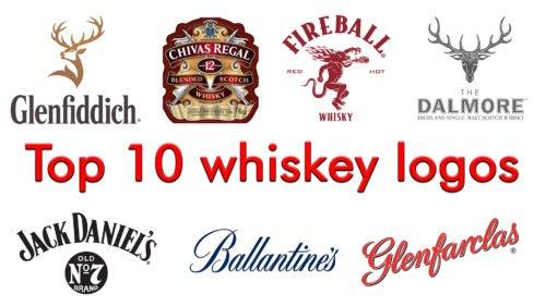 Top 10 whiskey logos