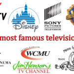 📺 Top 20 most famous television logos