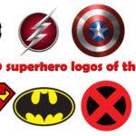 Top 20 superhero logos of the world