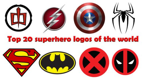 Top 20 superhero logos of the world