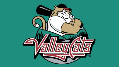 Tri-City ValleyCats Logo baseball