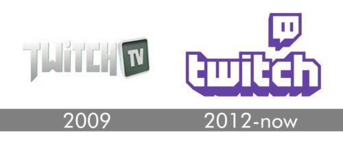Twitch Logo history