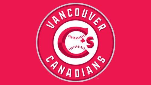 Vancouver Canadians Logo baseball