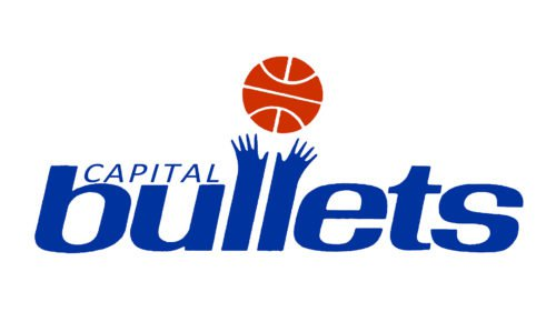 Washington Bullets logo (1987-1997)