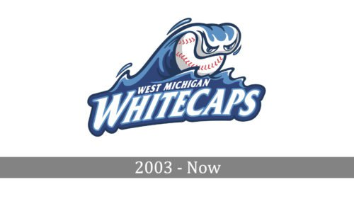 West Michigan Whitecaps Logo history