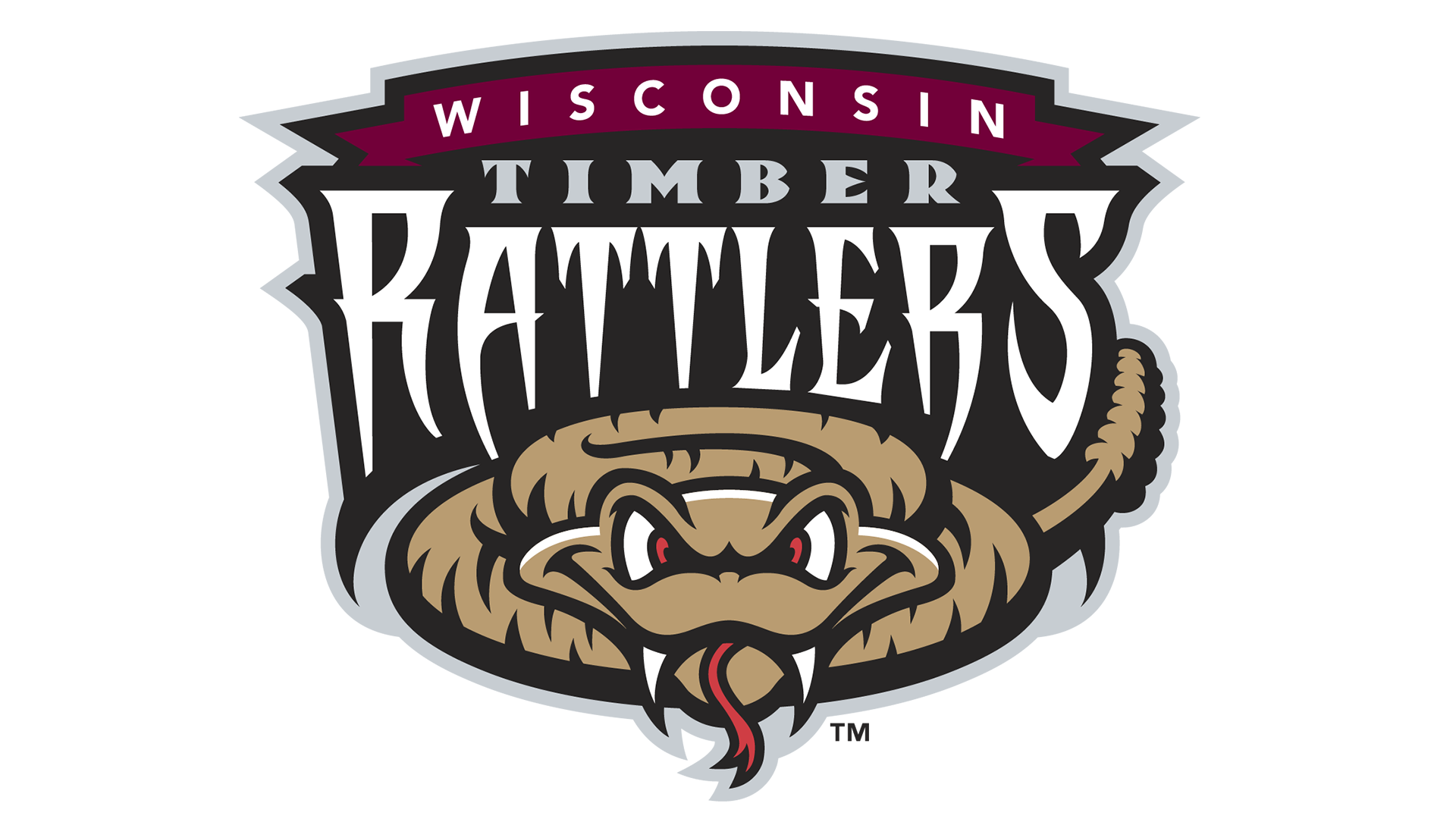 Meaning Wisconsin Timber Rattlers logo and symbol | history