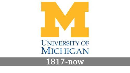 university of michigan logo history