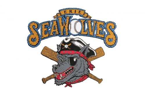 Erie SeaWolves Logo 1995
