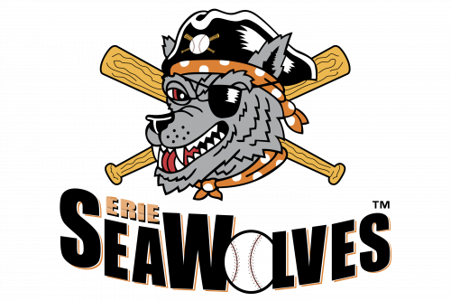 Erie SeaWolves Logo 2001