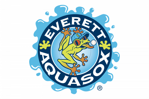 Everett AquaSox Logo 1997