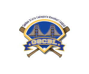 Golden State Collegiate Baseball League logo