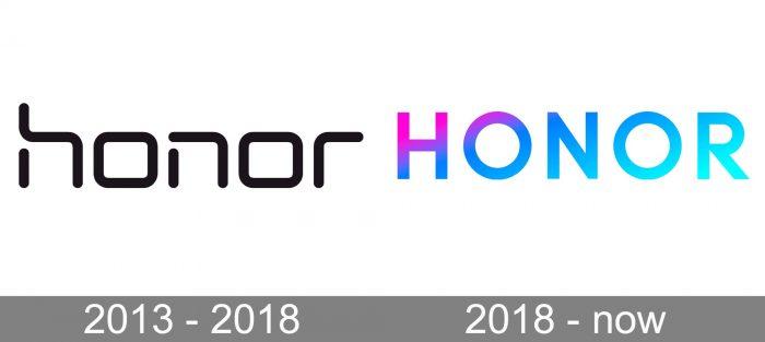 Honor Logo history