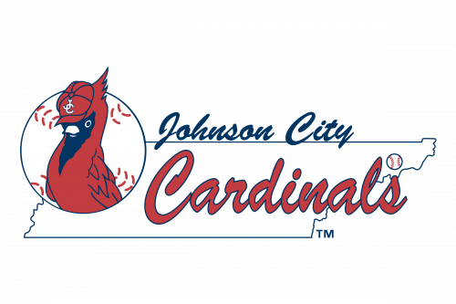 Johnson City Cardinals Logo 1975