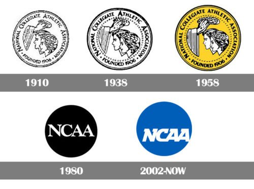 National Collegiate Athletic Association logo history