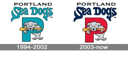 Portland Sea Dogs Logo history