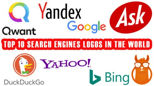 TOP 10 Search Engines Logos in the World