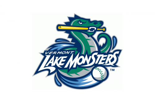 Vermont Lake Monsters Logo 2006