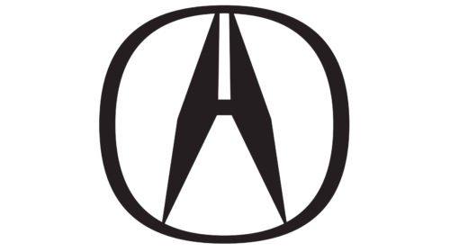 acura emblem black