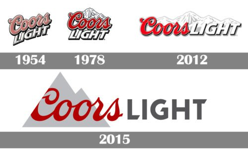 coors light logo history