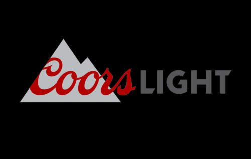 coors light logo mountain