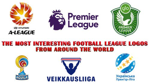 interesting football league logos