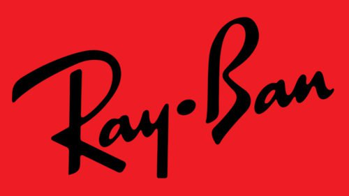bd647a5156a The cursive Ray-Ban logo appeared on the lenses in the 1980s. The symbol of  the eyewear brand is just a wordmark which is the company s name.