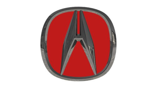 red acura emblem