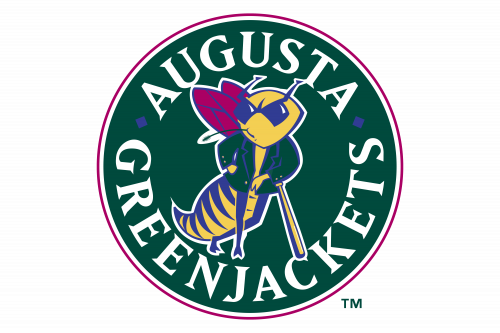 Augusta GreenJackets Logo 1994