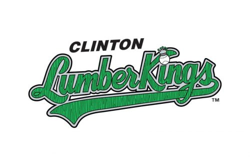Clinton LumberKings Logo 1994