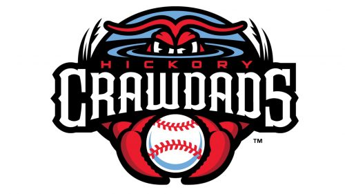 Hickory Crawdads logo