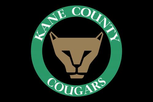Kane County Cougars Logo 1991