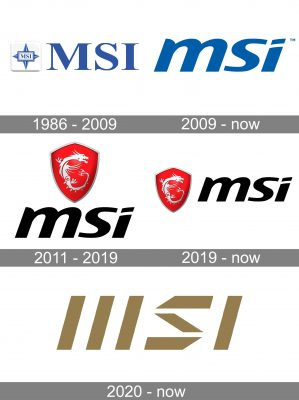MSI Logo history