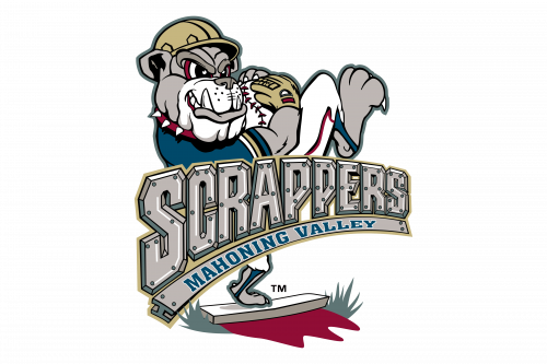 Mahoning Valley Scrappers Logo 1999