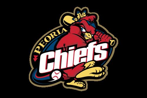Peoria Chiefs Logo 1996