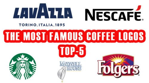 ☕ The most famous coffee logos. TOP-5