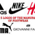 The top 5 logos of the manufacturers of footwear