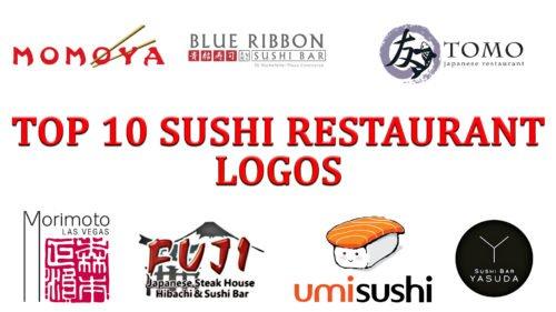 Top 10 Sushi Restaurant Logos