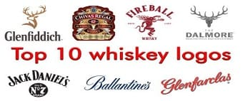 Top 10 whiskey logos