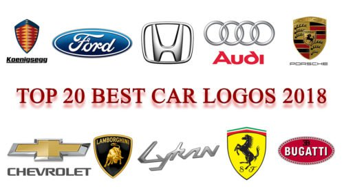 Top 20 best car logos 2018