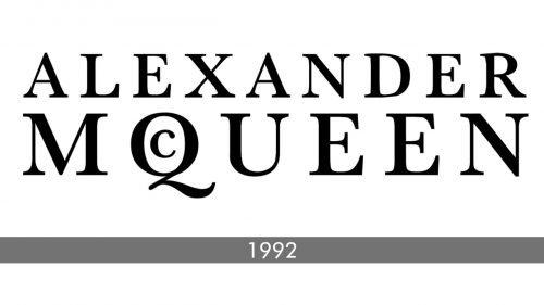 Alexander McQueen logo history