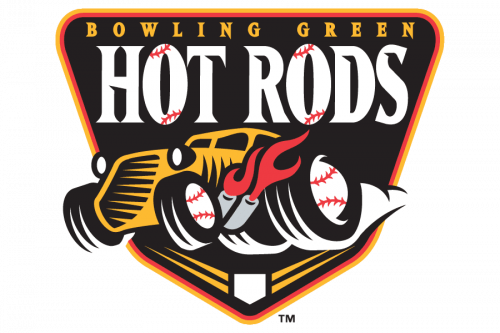 Bowling Green Hot Rods Logo 2009