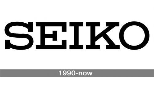 Seiko Logo history