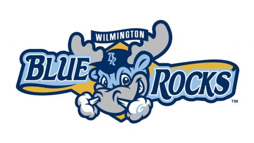 Wilmington Blue Rocks logo