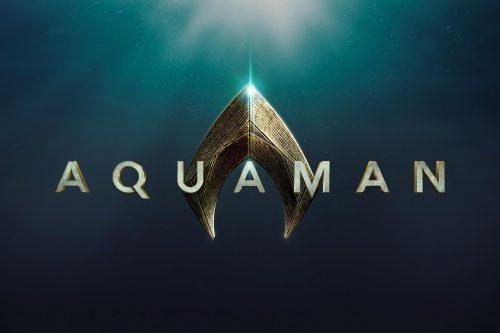 Aquaman first 2017 logo