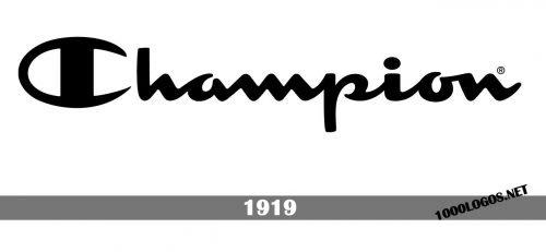 Champion Logo history