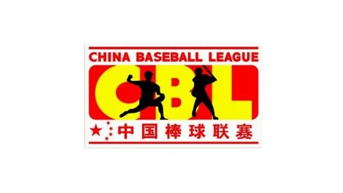 China Baseball League logo