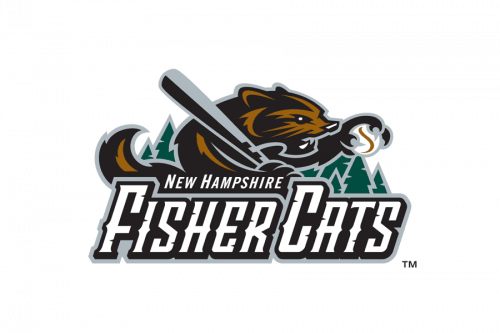 New Hampshire Fisher Cats Logo 2004
