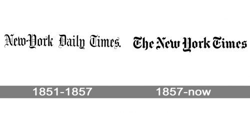 New York Times Logo history